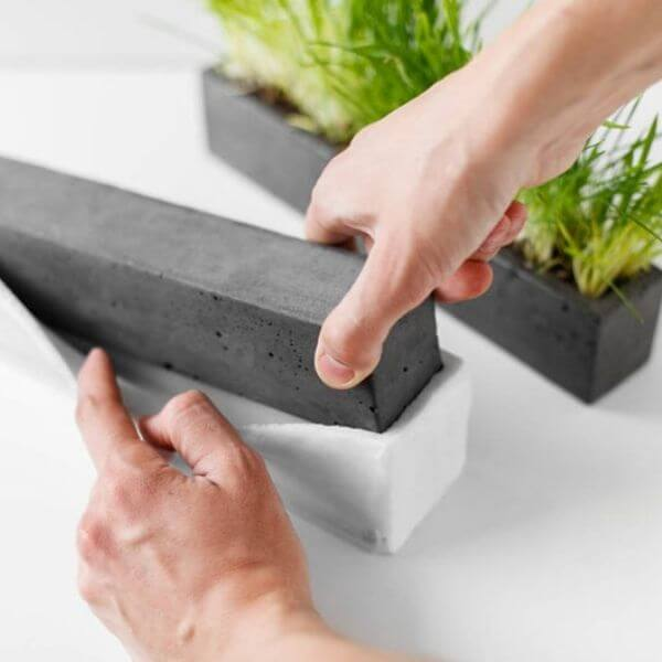 Cement Silicone Molds for DIY Planters
