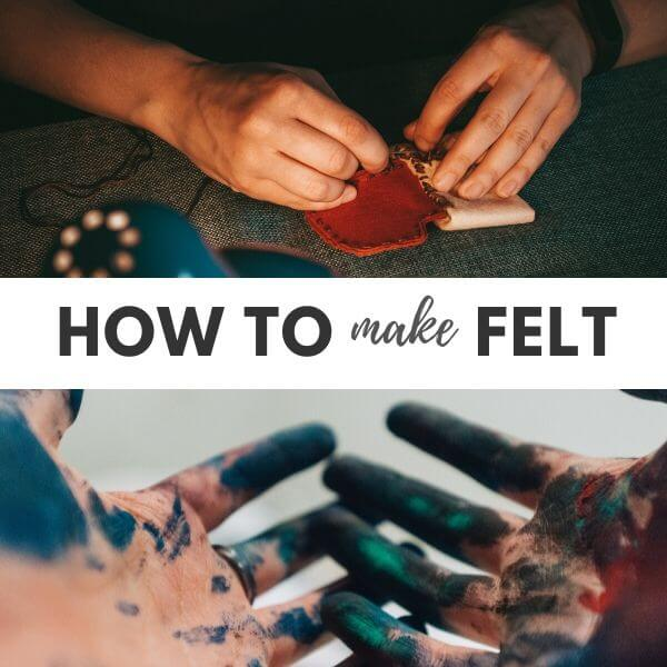 How to make felt sheets