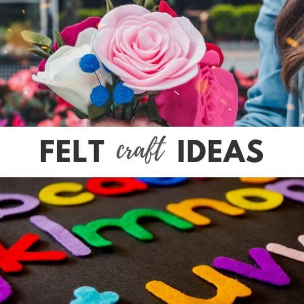 Felt craft ideas