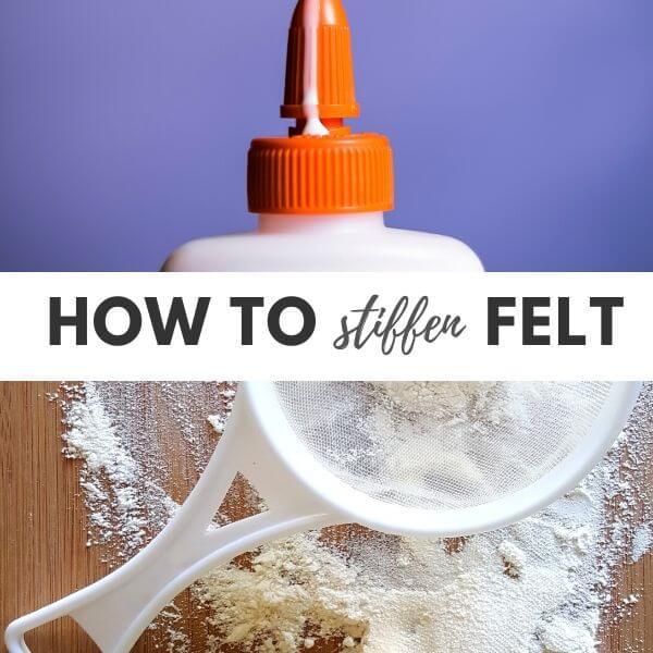 How to stiffen felt