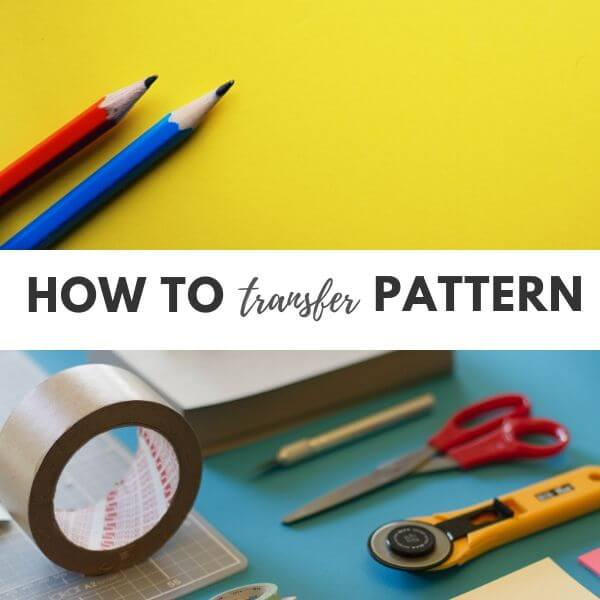 How to transfer pattern to felt