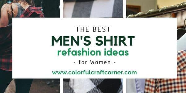 men's buttondown shirt refashioning