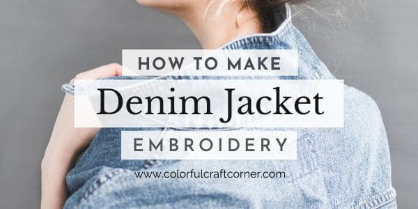 Embroidered denim jackets