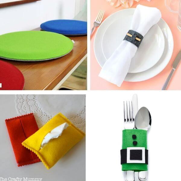 Easy Felt Craft Ideas