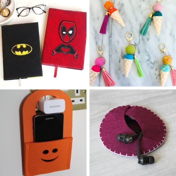 Easy Felt Craft Ideas