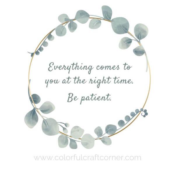 Inspirational Quote Printable wall art