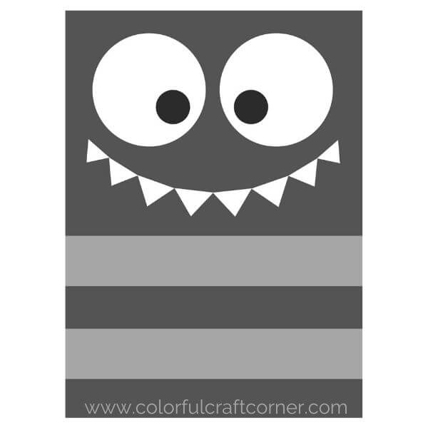 Monster Children's Room Printable Wall Art