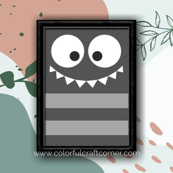 Monster Kid's Room Printables
