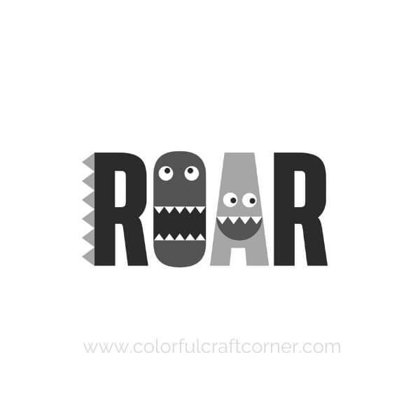Monster Children's Room Digital Download