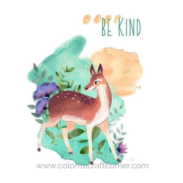 Watercolor Animal Digital Downloads