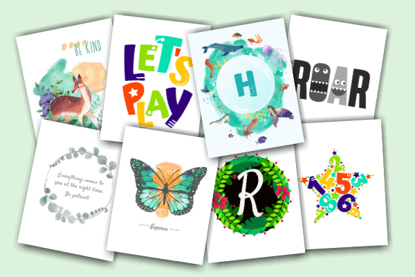 Colorful Craft Corner Free Resource Library