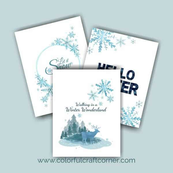 Free Winter Art Prints