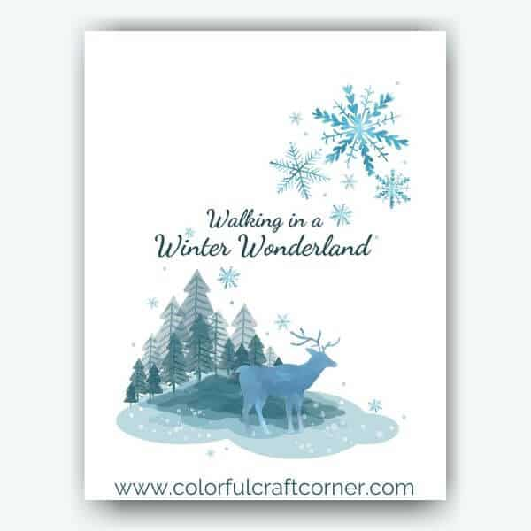 Free Winter Digital Downloads