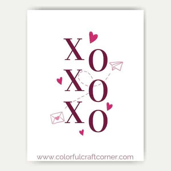 Valentine free art prints