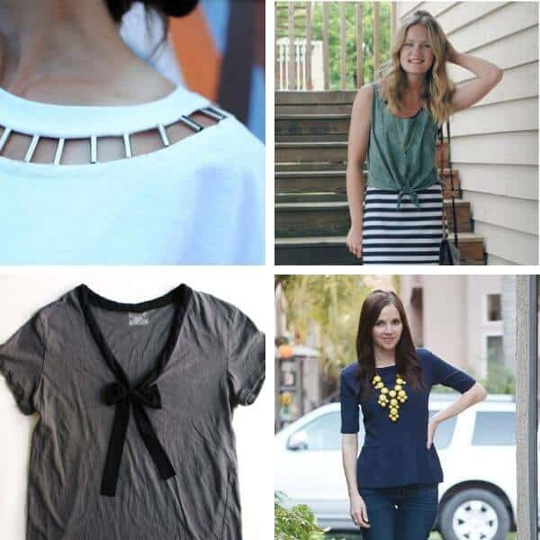 Upcycling ideas for a summer capsule wardrobe