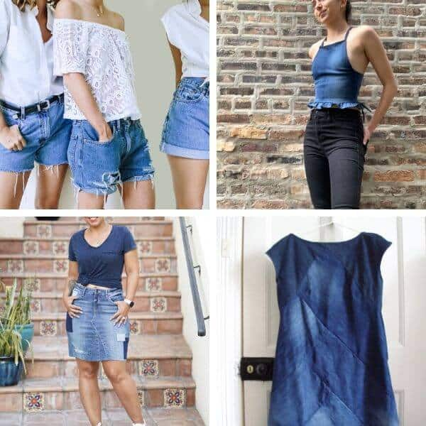 Summer capsule wardrobe with upcycle ideas