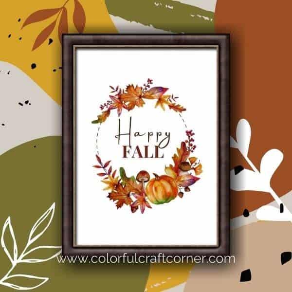Free Printable Fall Digital Downloads