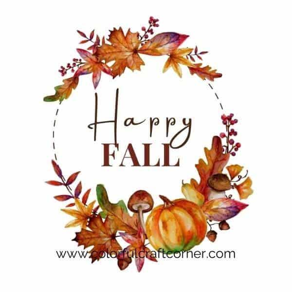 Free Autumn Digital Downloads