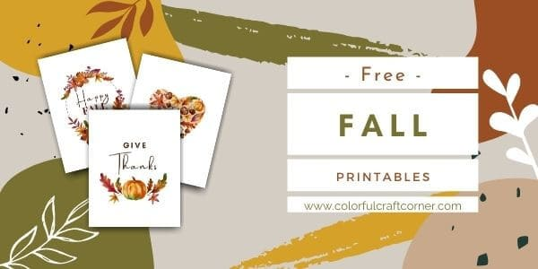 Free Printable Autumn Wal Art