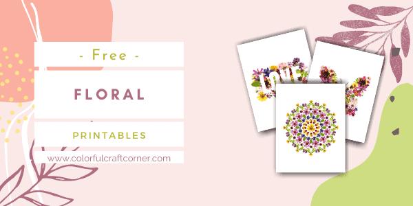 Free Printable Floral Art