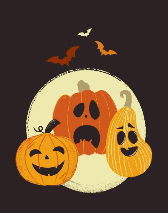 Carved pumpkins printable