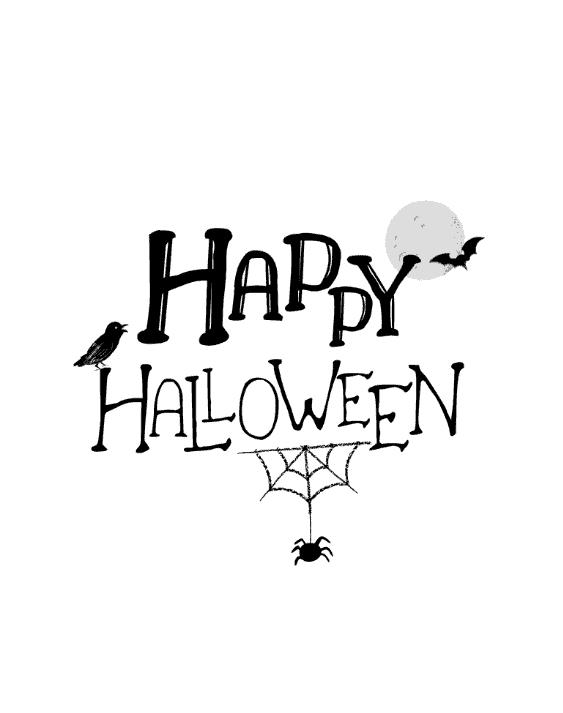 Happy Halloween sign