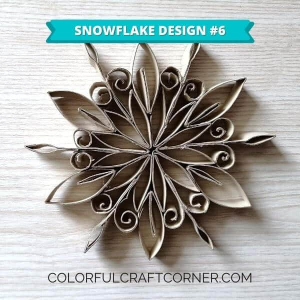 Easy Snowflake ornament