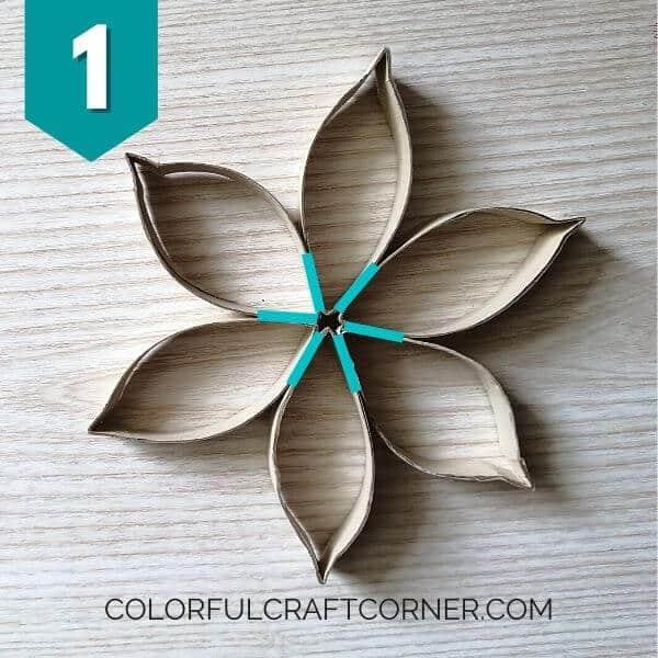 Paper tube craft