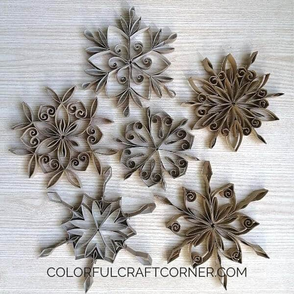 How to make Snowflakes