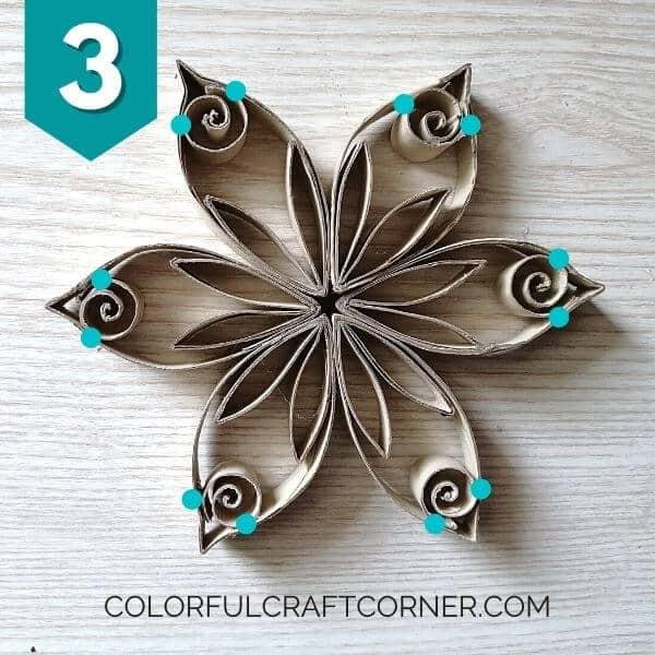 Paper tube shapes