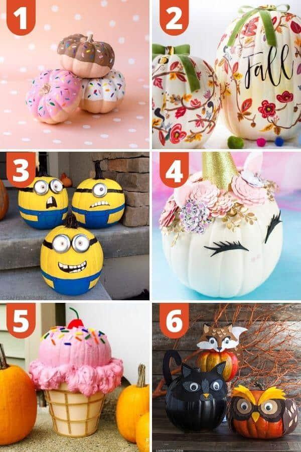 Cute Pumpkin Painting Ideas