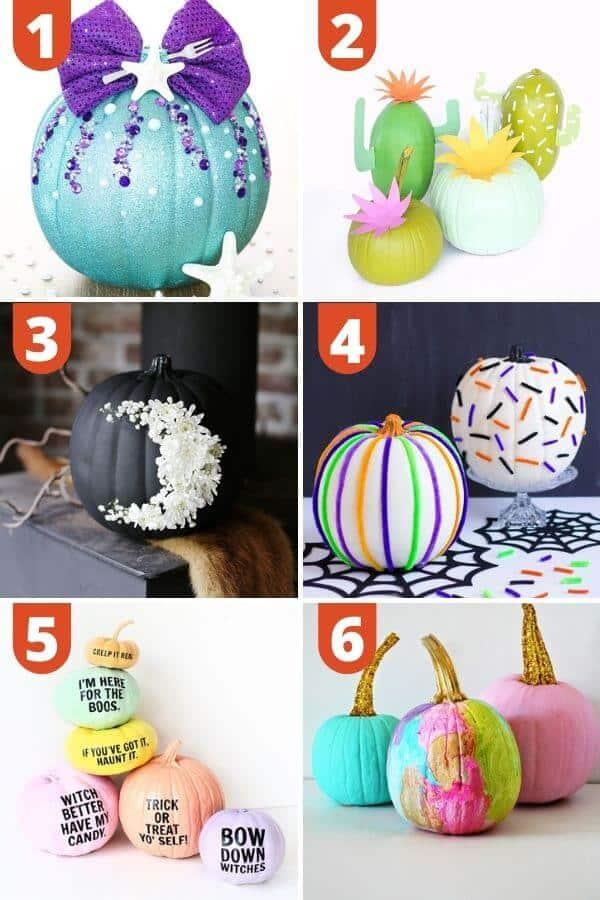 Creative Pumpkin Painting Ideas