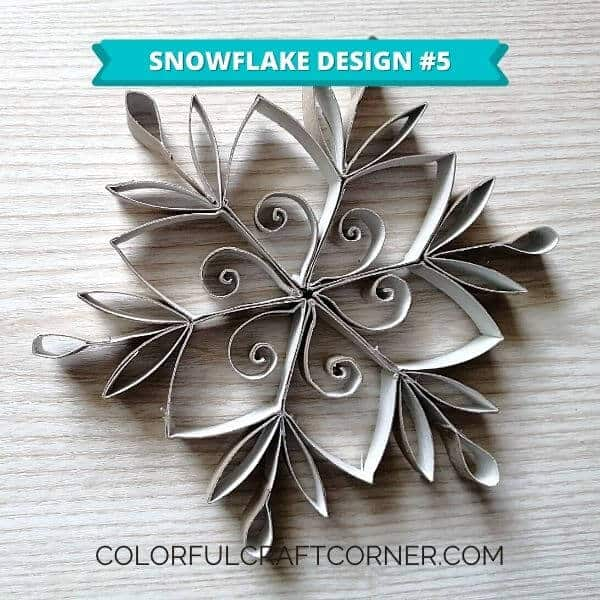 DIY Snowflake design