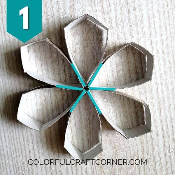 Cardboard tube shapes