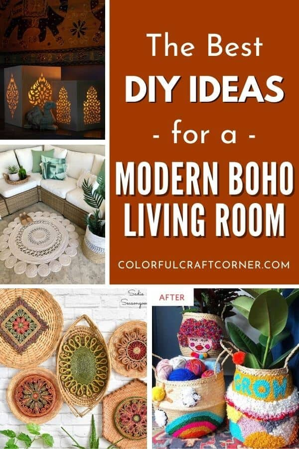 DIY boho home decor ideas