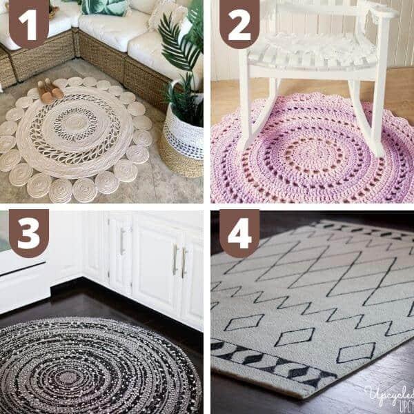 DIY boho rugs