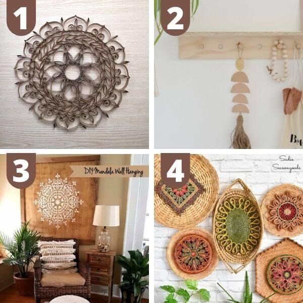 DIY boho wall decor
