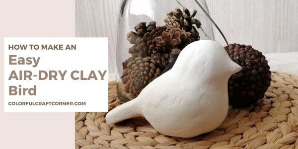 How to make a clay bird easy
