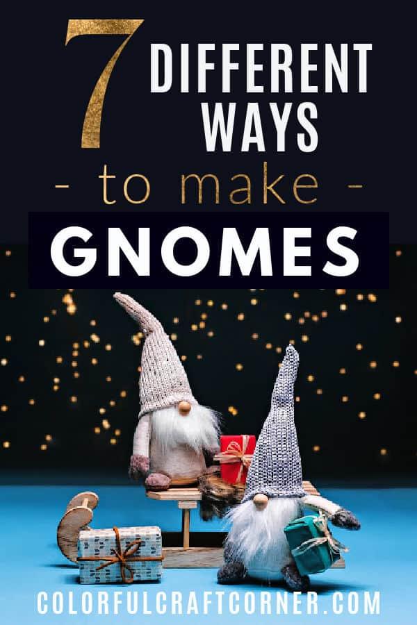 Handmade gnome ideas