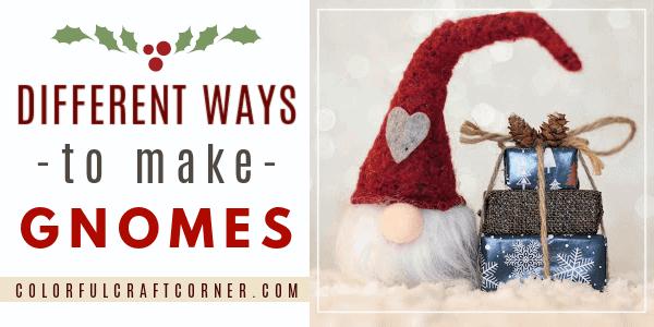 How to make handmade gnomes