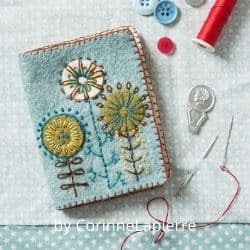 Felt Needle Case craft kit for adults