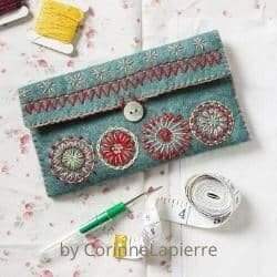 Felt Sewing Pouch  craft kit for adults