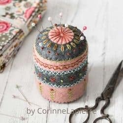 Felt Pincushion craft kit for adults