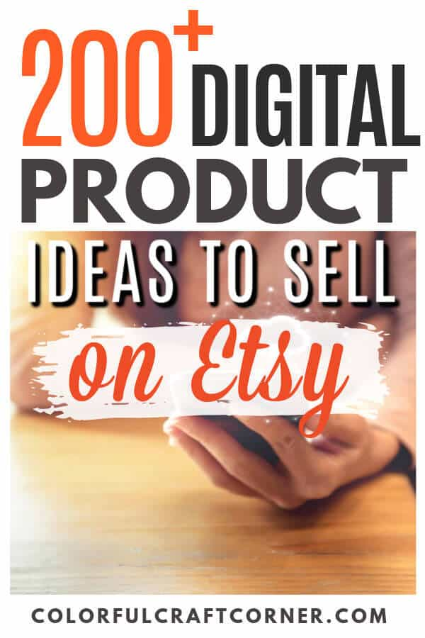 digital product ideas to sell on Etsy