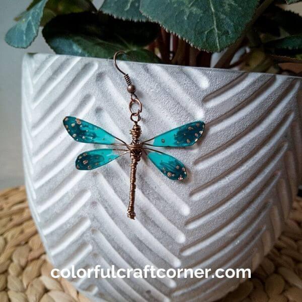DIY wire dragonfly
