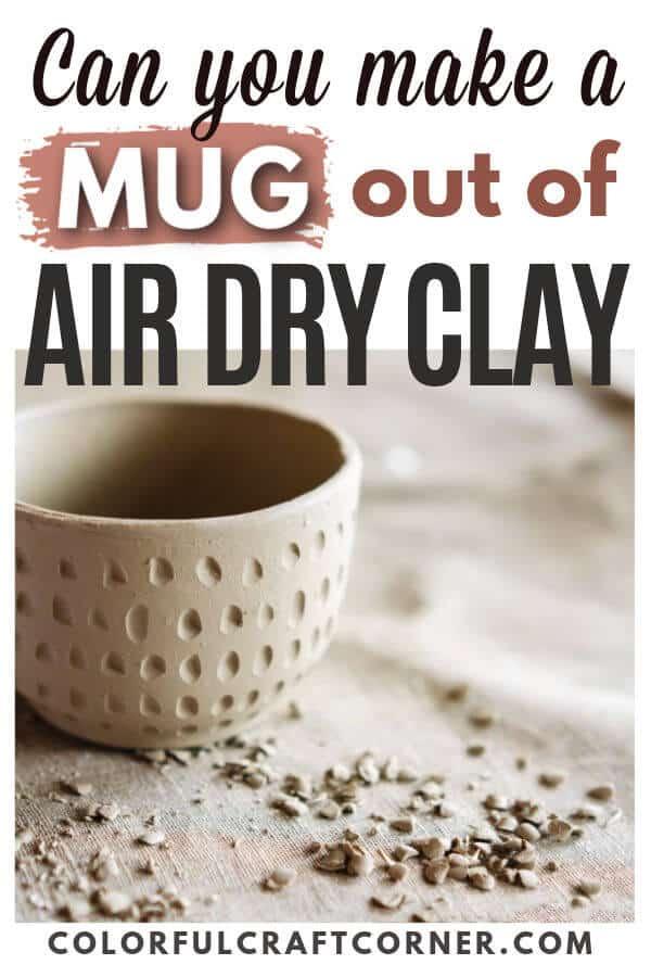 air dry clay bowl
