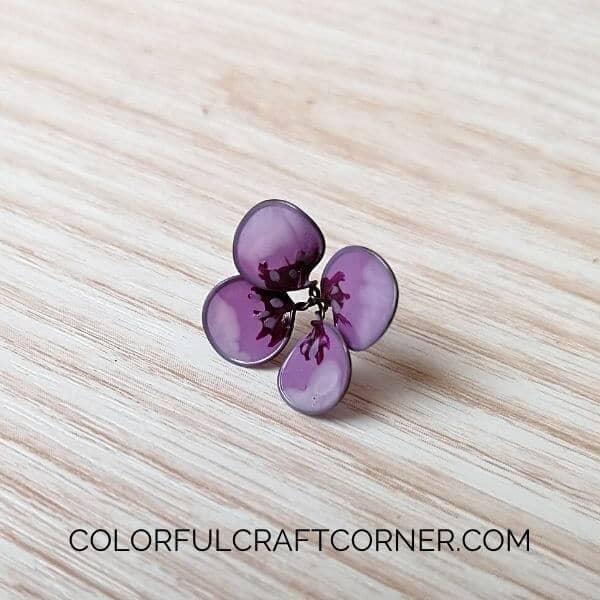 nail polish flower