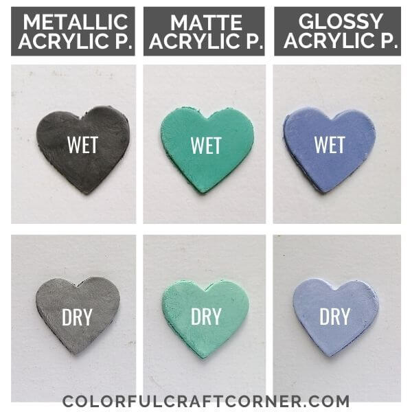 DIY colored air hardening clay