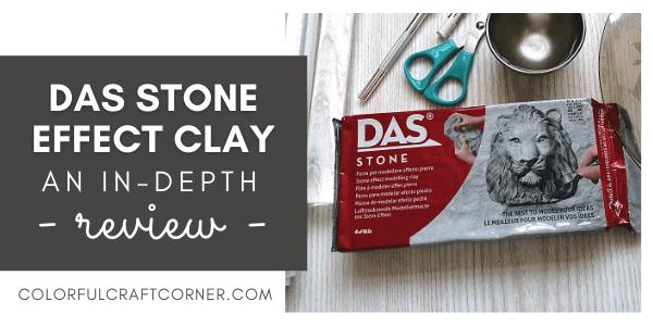 DAS stone effect clay