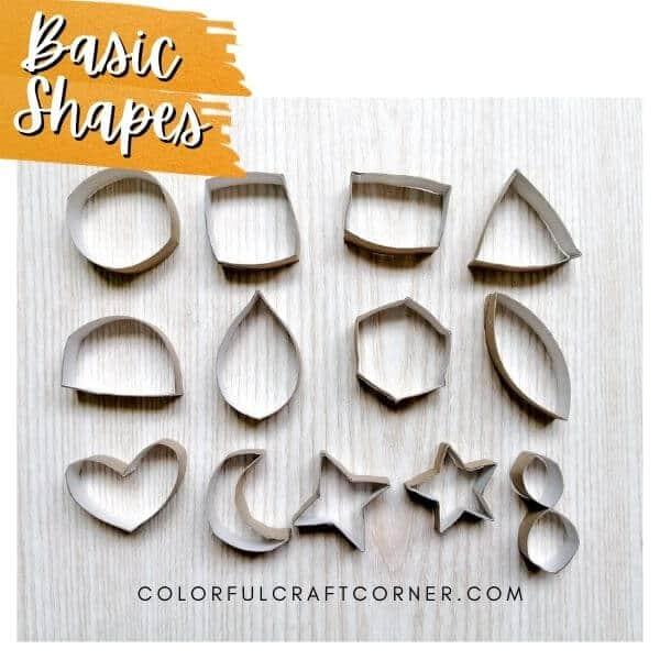 toilet paper core shapes